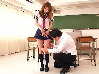 AnyPorn Sex Video - Japanese Schoolgirl Miku Ohashi Having Her Wet Twat Dicked Deep